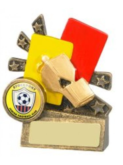 9cm Xblast Football Referee Cards And Whistle