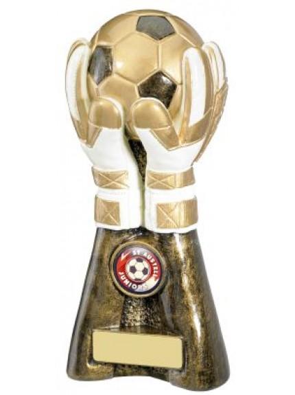 20.5cm Goal Keeper Football Trophy