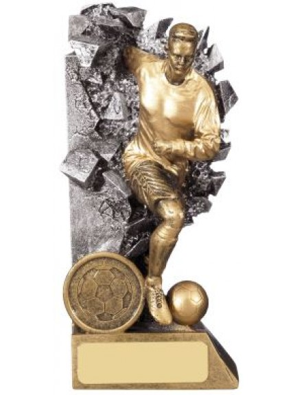 Breakout Male Football Player Trophy - Available In 4 Sizes