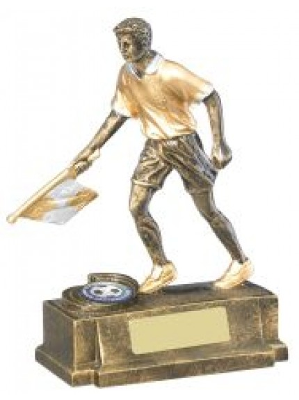 16.5cm Football Linesman Trophy
