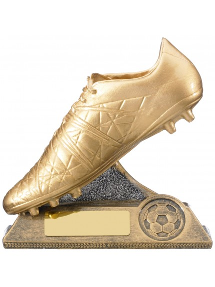 Golden Boot Football Award - 12.5cm
