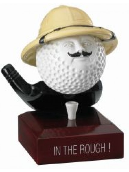 12cm Golf In The Rough Award