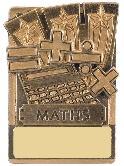 Mini Magnetic Maths Award - 82mm