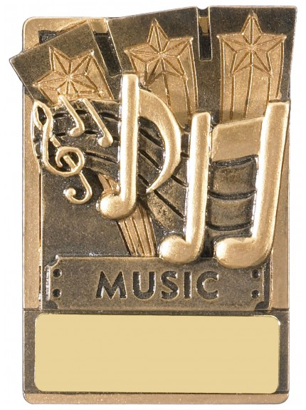 Mini Magnetic Music Award - 82mm