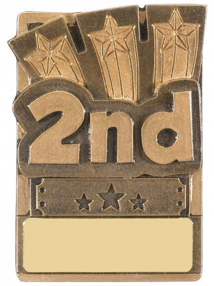 Mini Magnetic 2nd Place Award - 82mm