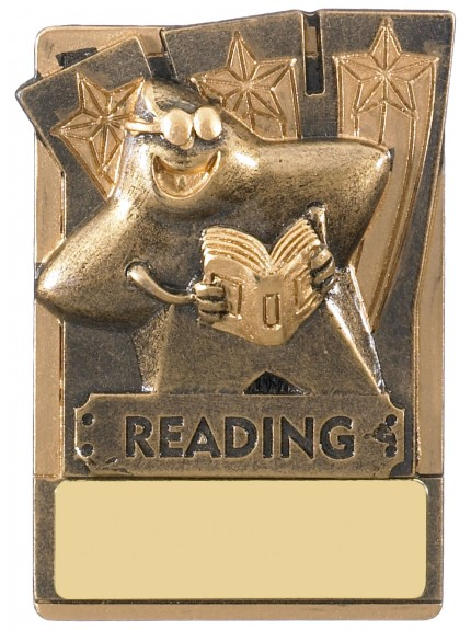 Mini Magnetic Reading Award - 82mm