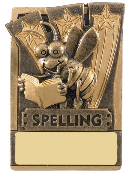 Mini Magnetic Spelling Award - 82mm