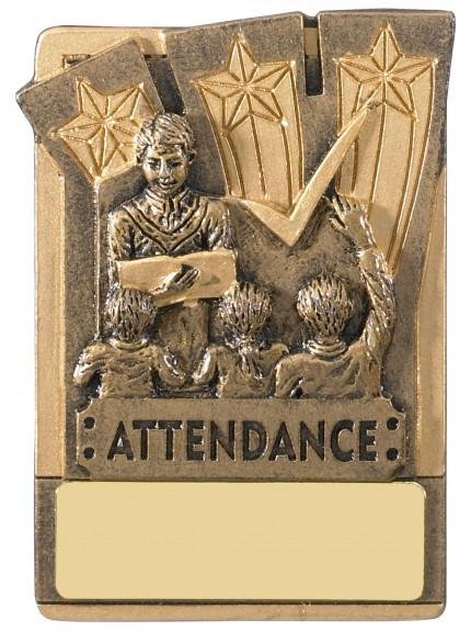 Mini Magnetic Attendance Award - 82mm