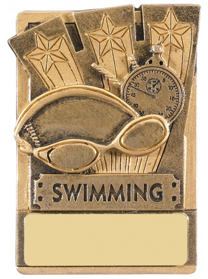 Mini Magnetic Swimming Award - 82mm