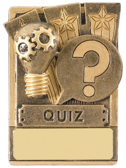 Mini Magnetic Quiz Award - 82mm