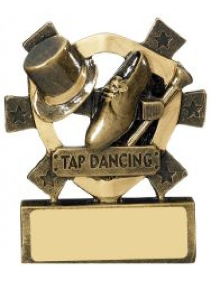8cm Tap Dancing Mini Shield