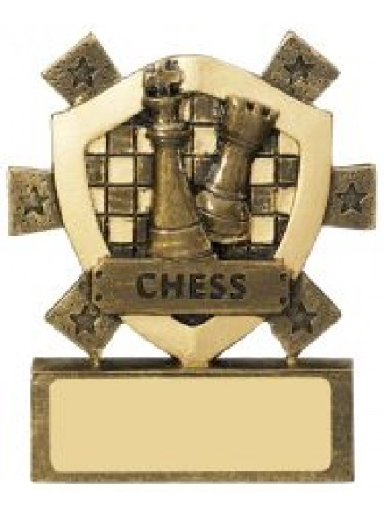 8cm Chess Mini Shield