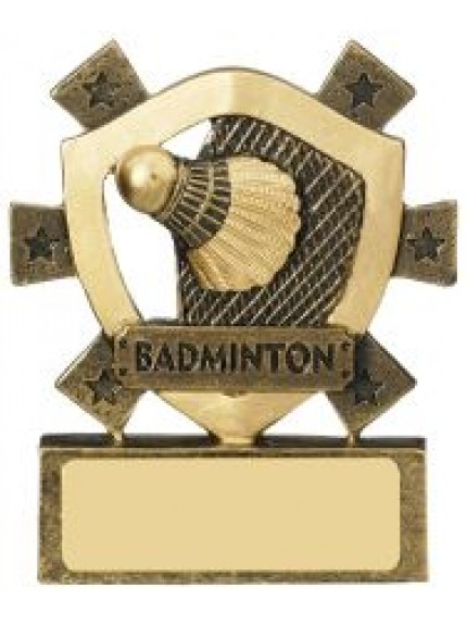 8cm Badminton Mini Shield