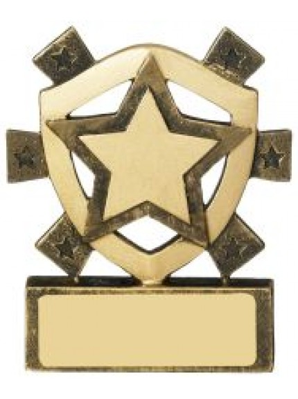 8cm Star Mini Shield
