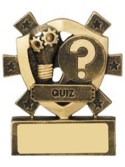 8cm Quiz Mini Shield