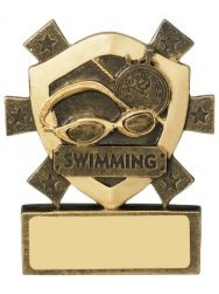 8cm Swimming Mini Shield