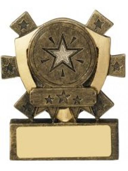 8cm Mini Shield Centre Holder