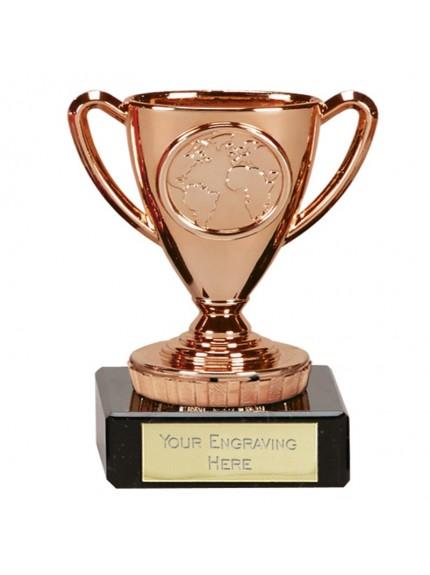 9.5cm Flexx Bronze Cup in bronze