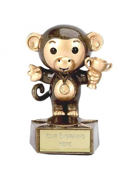 Monkey Novelty Children's Resin Award