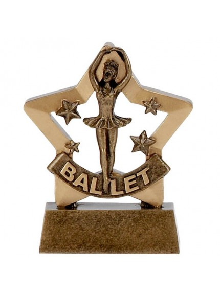 Star Themed Ballet Dancing Award - Available in 2 sizes
