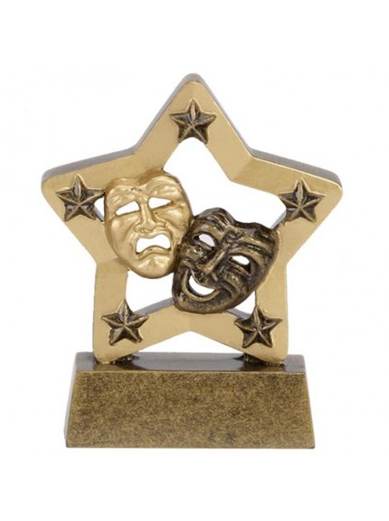 Star Theatrical Masks Drama Award - Available in 2 sizes