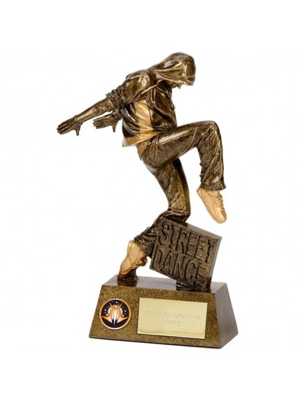 Pinnacle Street Dance Resin Trophy - Available in 2 sizes