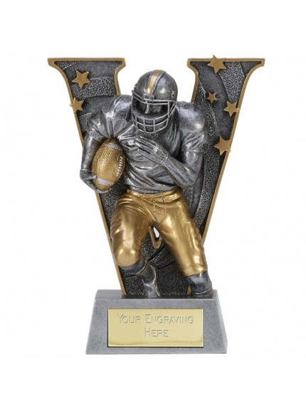 V Series American Football Resin - Available In 3 Sizes