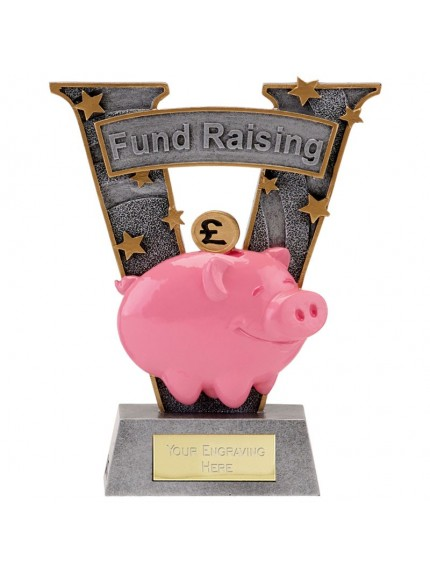 18.5cm V Series Fund Raising in gold and bronze