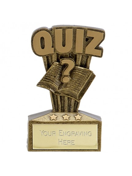7.5cm Micro Quiz in gold and bronze