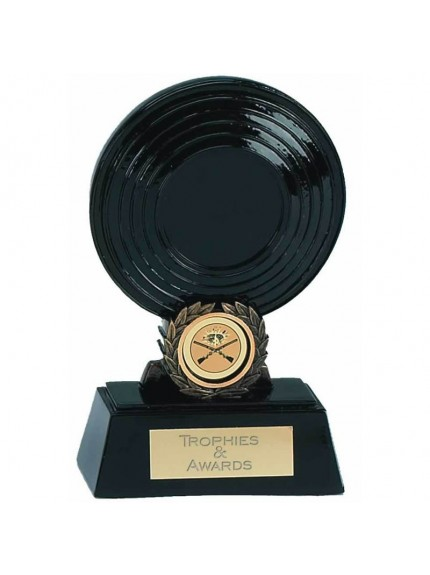 Clay Pigeon Resin Award With Wreath Detail - Available In 2 Sizes