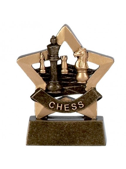 Mini Star Chess Board Award