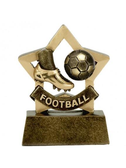 Mini Star Football Boot and Ball Award