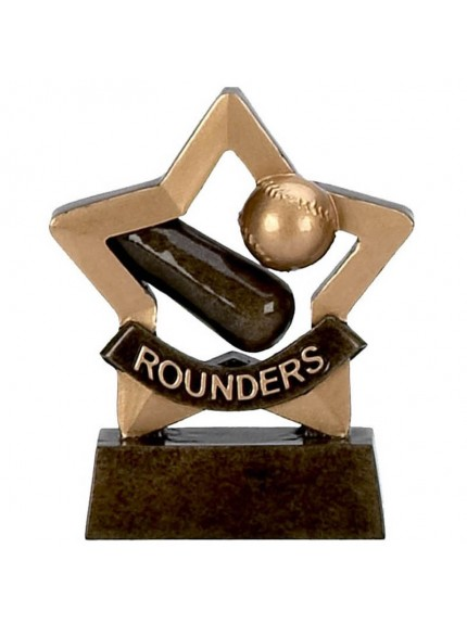 School Resin Mini Star Rounders Trophy