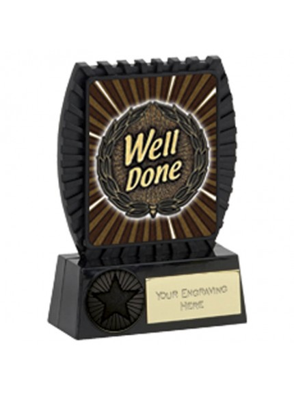 11.5cm Lynx Well Done Plaque