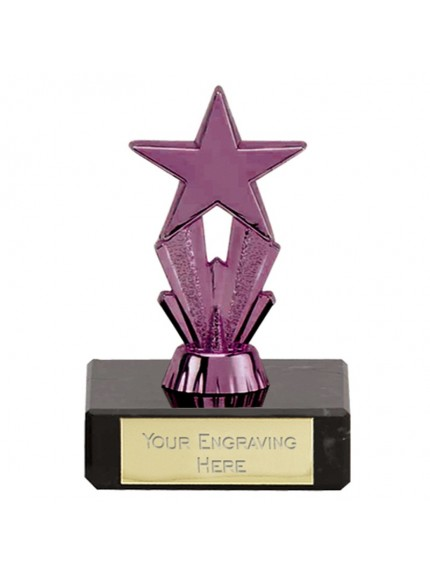 Micro Star Purple Trophy In Purple