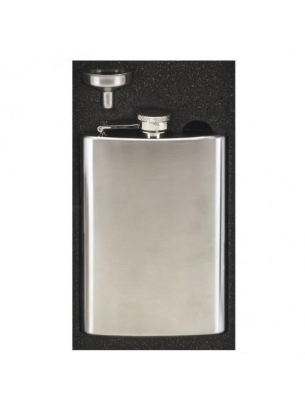 8oz Vision Satin Polish Flask in satin