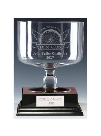 21cm Windmill Glass Bowl