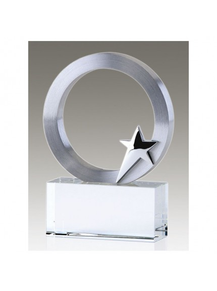 Eclipse Star Clear Award And Silver