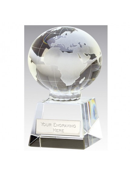 Globe Optical Trophy Clear Award