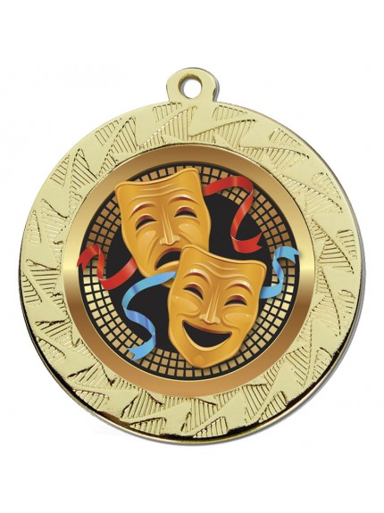 Prism70 Drama Medal - Available in Gold and Silver