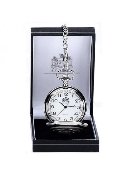 4cm AE Williams Standard Full Hunter Silver Pocket Watch