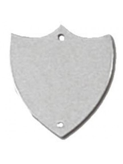 32mm Flat Silver Side Shield