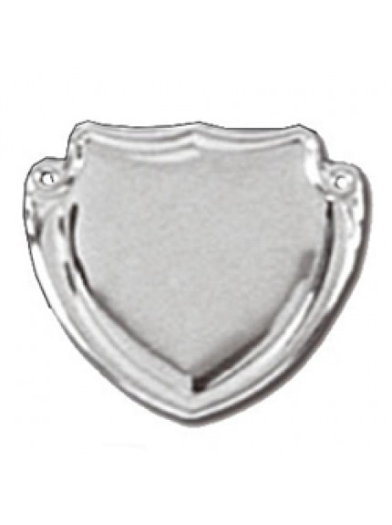38mm Patterned Silver Side Shield