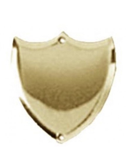 24mm Bevel Edged Gold Side Shield