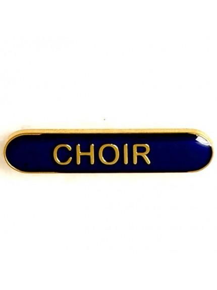 4X0.8cm Bar Badge Choir