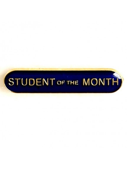 4X0.8cm Bar Badge Student Of The Month