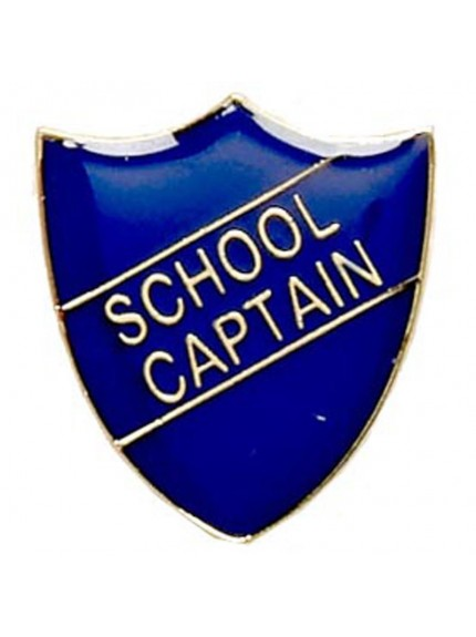 2.2X2.5cm Shield Badge School Captain