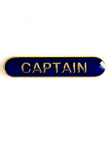 4X0.8cm Bar Badge Captain