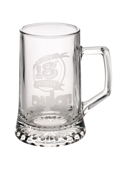 Crystal Tankard - 1/2 Pint