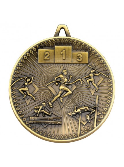 Athletics Deluxe Medal - 3 Colours